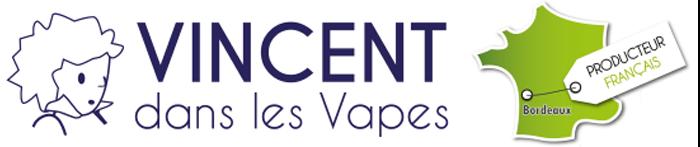 Logo e liquide Vincentdanslesvapes.fr