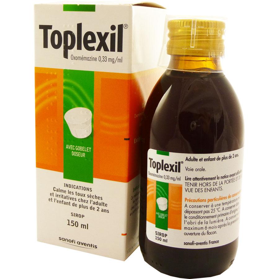 Toplexil, attention aux mises en garde médicales