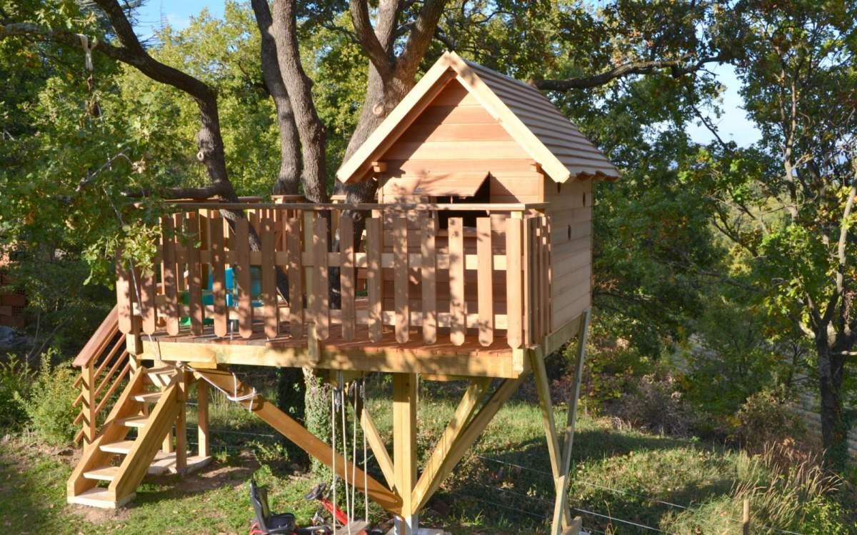 Comment construire une cabane dans les arbres - Comment construire une cabane en bois ...